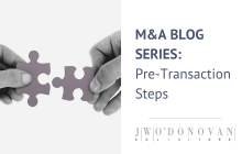 Mergers and Acquisitions: Pre-Transaction Steps